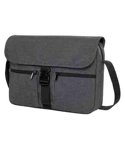 Notebook Bag Fashion - Businesstaschen - Laptop-Taschen - Halfar Blue-Grey Melange