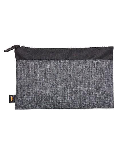 Zipper Bag Elegance - Halfar Black - Grey-Sprinkle