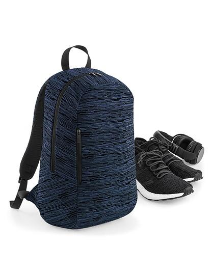 Duo Knit Backpack - Rucksäcke - Freizeit-Rucksäcke - BagBase Electric Yellow - Black