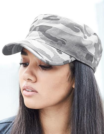 Camo Army Cap - Caps - Camouflage-Caps - Beechfield Field Camo