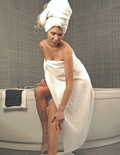 Hotel Maxi Bath Towel - Frottierwaren - Handtücher - Bear Dream White