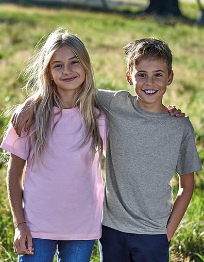 Kids` Short Sleeve T-Shirt - Kinderbekleidung - Kinder T-Shirts - Neutral Black