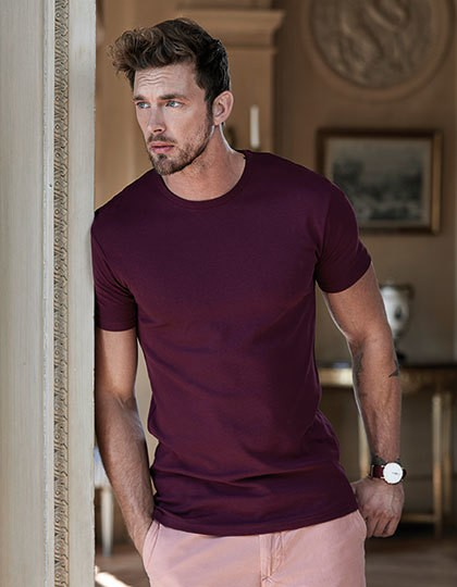 Interlock Tee - Fashion T-Shirts - Rundhals - Tee Jays Azure