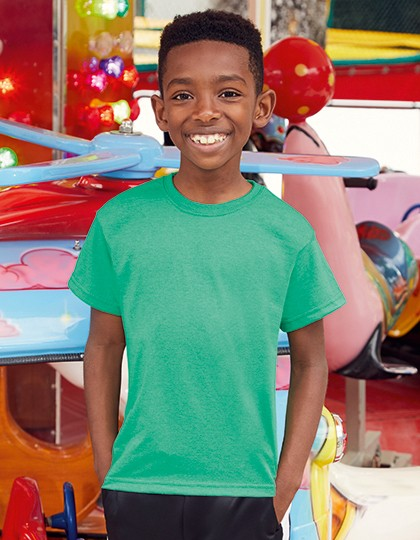 Kids Valueweight T - Kinderbekleidung - Kinder T-Shirts - Fruit of the Loom Azure Blue