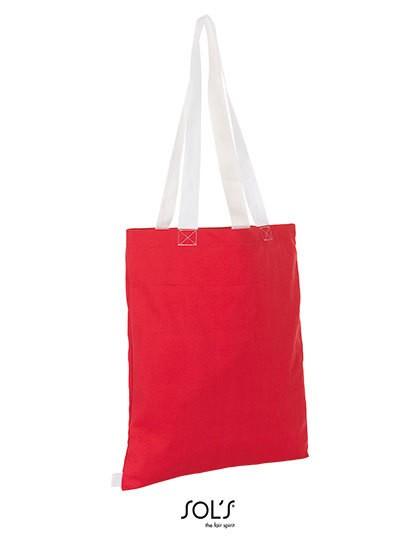 Hamilton Shopping Bag - Baumwoll- & PP-Taschen - Baumwolltaschen - SOL´S Bags Black - Neon Lime