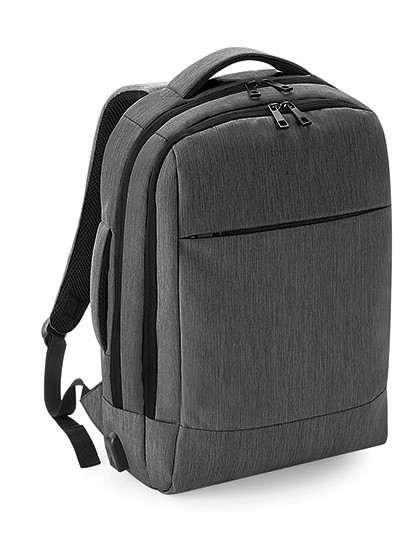 Q-Tech Charge Convertible Backpack - Quadra Black