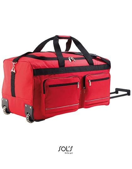 Travel Bag Voyager - Freizeittaschen - Sport- & Reisetaschen - SOL´S Bags Black