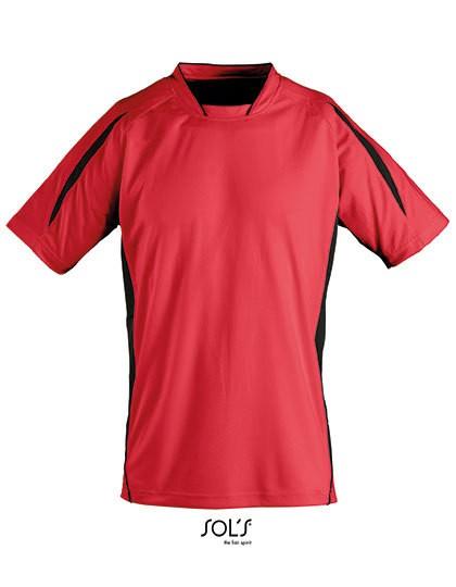Shortsleeve Shirt Maracana 2 Kids - Sports & Activity - Teamsport - SOL´S Teamsport Bright Green - White