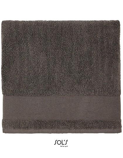 Hand Towel Peninsula 50 - SOL´S Dark Grey (Solid)