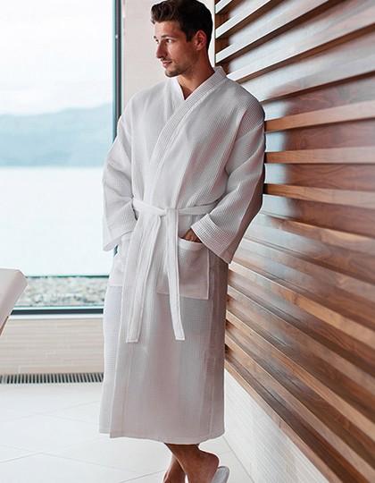 Waffle Robe - Frottierwaren - Bademäntel - Towel City White