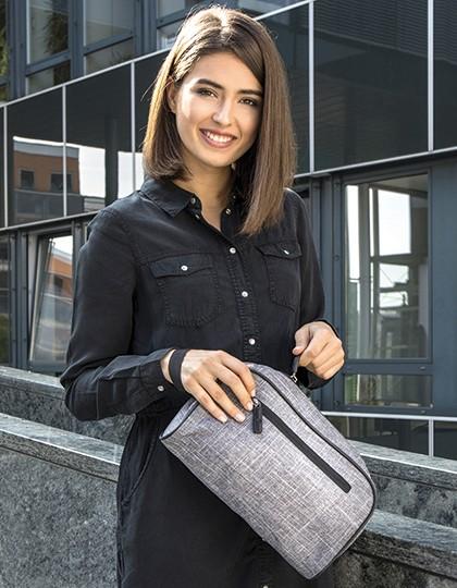 Cosmetic Bag - Dallas - Bags2GO Grey Melange