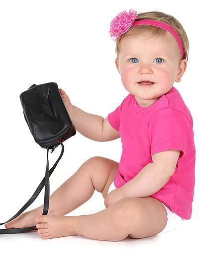 Bio Short Sleeve Baby T-Shirt - Kinderbekleidung - Baby Shirts & Hosen - Link Kids Wear Babypink