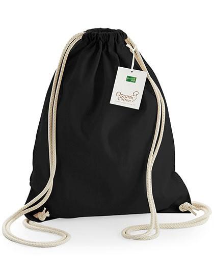 EarthAware® Organic Gymsac - Baumwoll- & PP-Taschen - Baumwolltaschen - Westford Mill Black