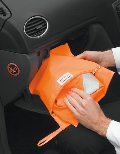 Safety Vest Storage Bag - Sicherheitsbekleidung - Sicherheits-Westen - Safe-Guard Fluorescent Orange