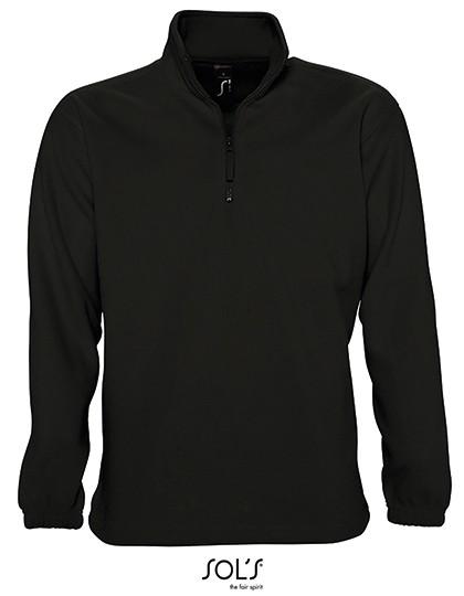 Half-Zip Fleece Ness - Fleece - Half Zip Fleece - SOL´S Black