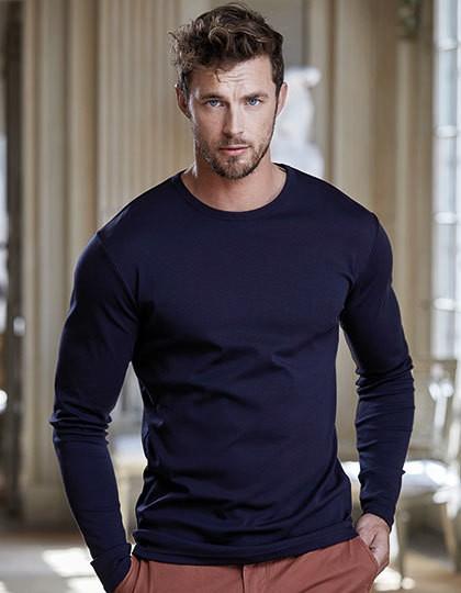 Long Sleeve Interlock Tee - Fashion T-Shirts - Langarm - Tee Jays Black