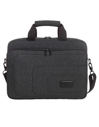 Notebook Bag Frame - Halfar Black - Grey-Sprinkle