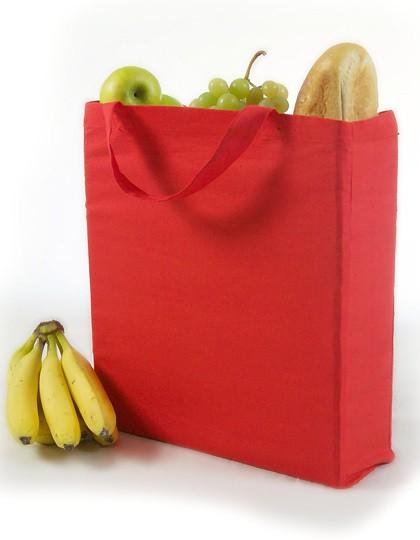 Baumwolltasche mit Seitenfalte - Baumwoll- & PP-Taschen - Baumwolltaschen - Printwear Natural