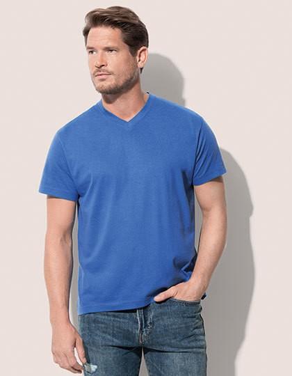 Classic-T V-Neck - Basic T-Shirts - V-Neck - Stedman® Black Opal