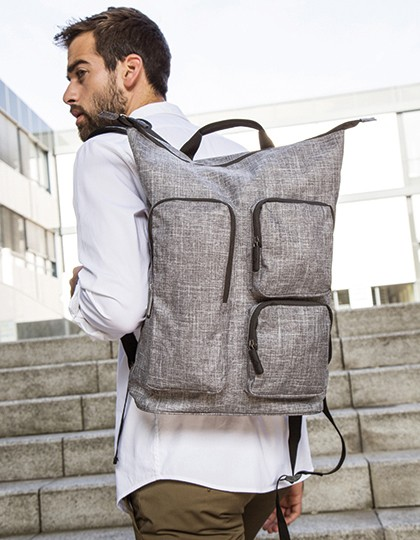 Backpack - Colorado - Bags2GO Grey Melange