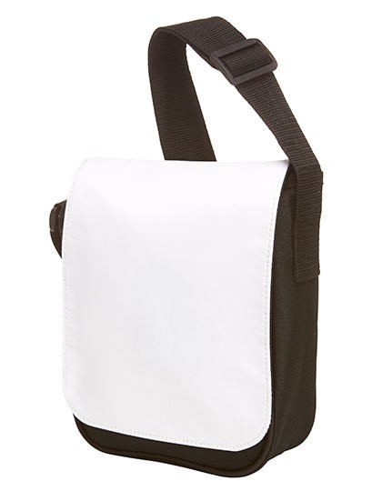 Mini Flap Bag Base - Freizeittaschen - Freizeit-Umhängetaschen - Halfar Black - White