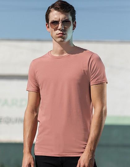 Men`s Feel Good Stretch T - Fashion T-Shirts - Rundhals - SF Men Black