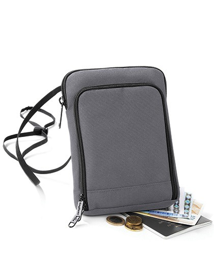 Travel Wallet - Freizeittaschen - Accessoires - BagBase Black