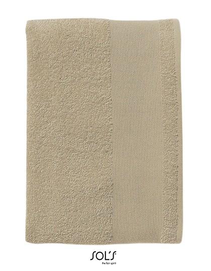 Bath Towel Island 70 - Frottierwaren - Handtücher - SOL´S Black