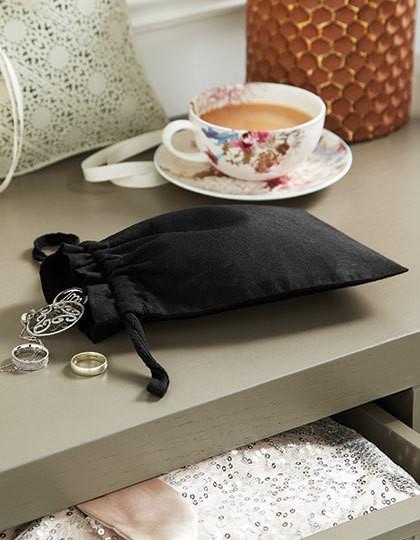 Organic Cotton Draw Cord Bag - Baumwoll- & PP-Taschen - Baumwolltaschen - Westford Mill Black