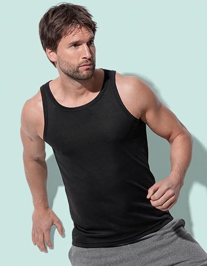 Sports Top - Sports & Activity - Basic Sport Shirts - Stedman® Black Opal