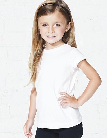 Toddler Fine Jersey T-Shirt - Kinderbekleidung - Kinder T-Shirts - Rabbit Skins Apple