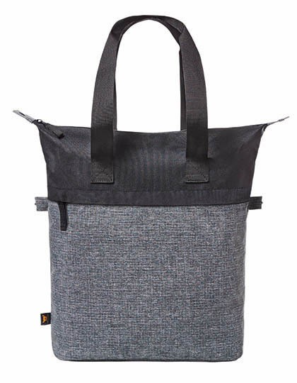 Shopper Elegance - Halfar Black - Grey-Sprinkle