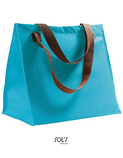 Shopping Bag Marbella - Freizeittaschen - Einkaufstaschen - SOL´S Bags Apple Green