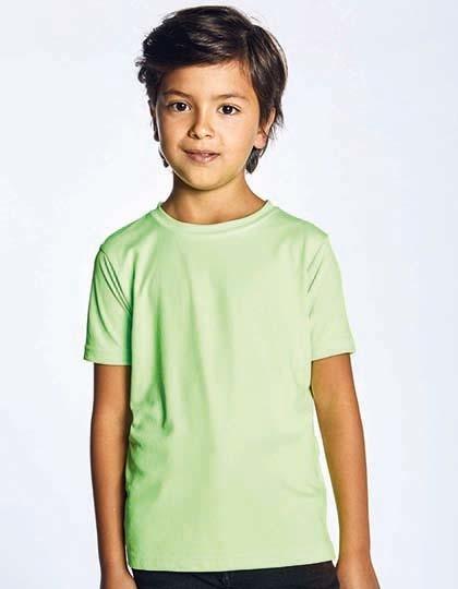 Junior Performance-T - Kinderbekleidung - Kinder Sportshirts - Promodoro Atomic Blue