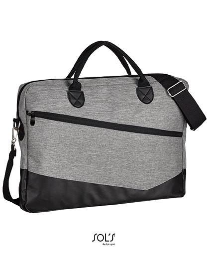 Briefcase Manhattan - Freizeittaschen - Freizeit-Umhängetaschen - SOL´S Bags Black
