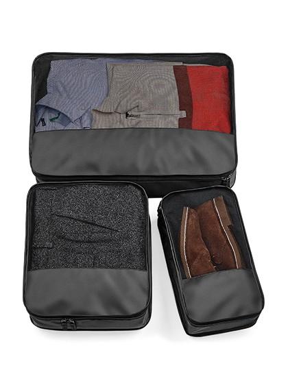 Escape Packing Cube Set - Freizeittaschen - Sport- & Reisetaschen - BagBase Black