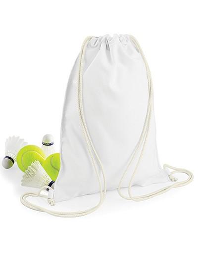 Sublimation Gymsac - Sublimationstextilien - Sublimationstaschen - BagBase White
