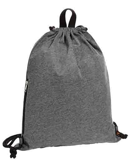 Drawstring bag Jersey - Rucksäcke - Freizeit-Rucksäcke - Halfar Anthracite