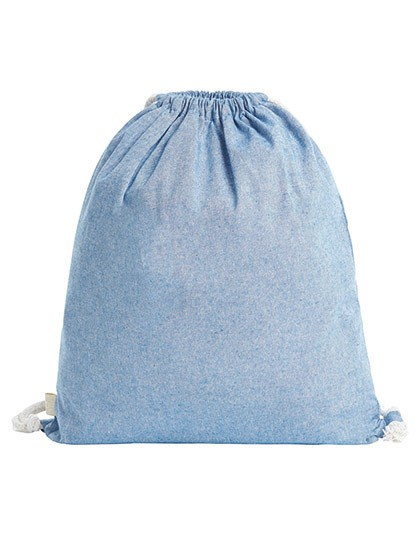 Drawstring Bag Planet - Halfar Blue