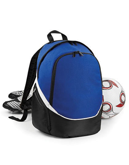 Pro Team Backpack - Rucksäcke - Freizeit-Rucksäcke - Quadra Black - Light Grey