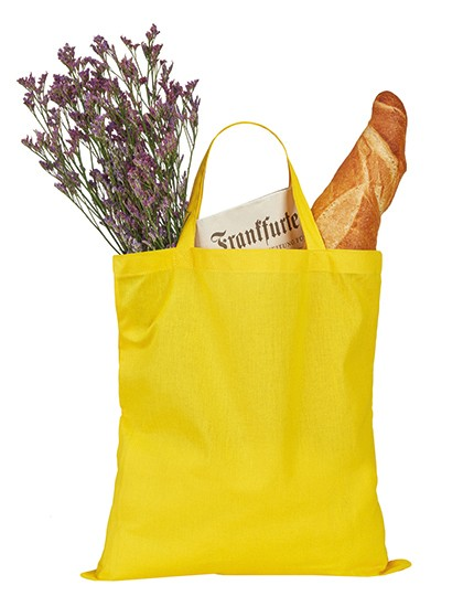 Cotton Bag Short handles - Printwear Natural