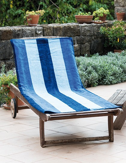Velour Beach Towel - Frottierwaren - Handtücher - Bear Dream Baby Blue (Light Blue)