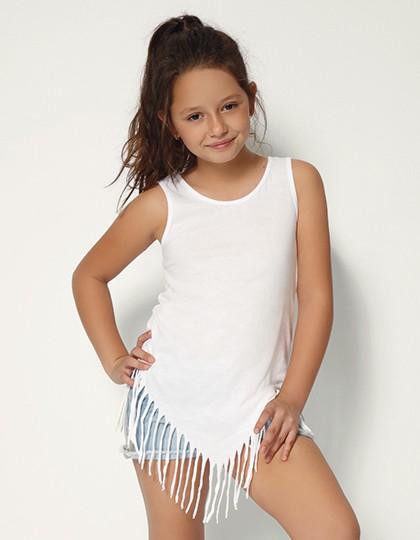 Kids` Pocahontas Vest - Kinderbekleidung - Kinder T-Shirts - Nath Yellow Fluor
