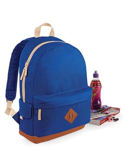 Heritage Backpack - Rucksäcke - Freizeit-Rucksäcke - BagBase Black