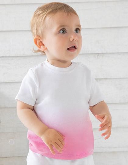 Baby Dips T - Babybugz White - Bubble Gum Pink