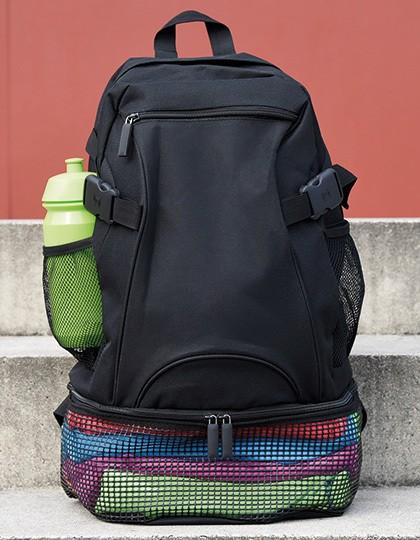Backpack Mesh - Rucksäcke - Freizeit-Rucksäcke - CONA SPORTS Black