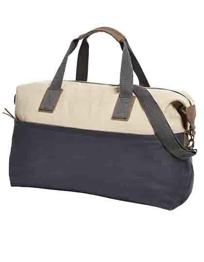 Sport-Travel Bag Journey - Freizeittaschen - Sport- & Reisetaschen - Halfar Beige - Dark Blue