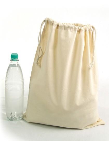 Zuziehbeutel, groß, 40 x 50 cm - Baumwoll- & PP-Taschen - Baumwolltaschen - Printwear Natural