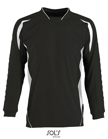 Kids` Goalkeepers Shirt Azteca - Sports & Activity - Teamsport - SOL´S Teamsport Apple Green - Black
