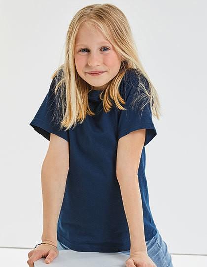 Children´s Classic T-Shirt - Kinderbekleidung - Kinder T-Shirts - Russell Azure Blue